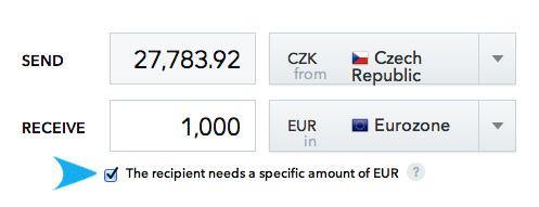 specific-amount